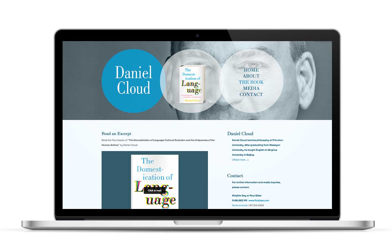 daniel cloud judy o studio website design for authors global the whole process from start to finish was completely smooth and problem the website i ended up is beautifully designed and very professional